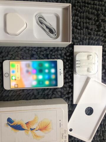 iPhone 6s Plus 64Gb Gold fu fullset no minus batre sehat mesin aman bandung 8cf0173071