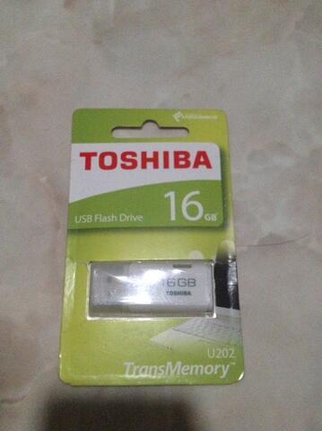 Flashdisk Toshiba 16gb ORI garansi plus USB otg termurah
