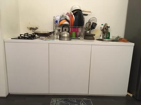 Terjual Jual Kitchenset Kitchen Bagian Bawah Saja Kabinet Bawah