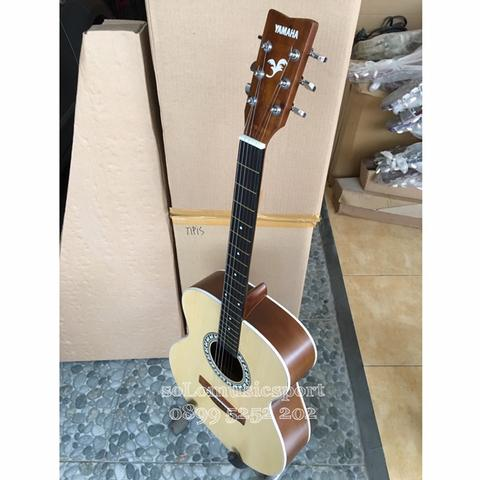 Gitar Yamaha FM Wood Natural Colour