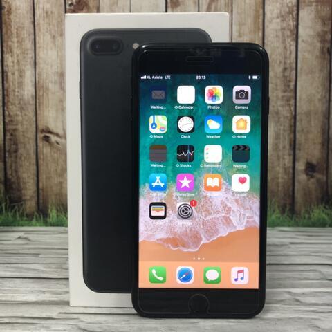 iPhone 7 Plus 128GB Black Matte muluss poll Garansi inter singapore ZP