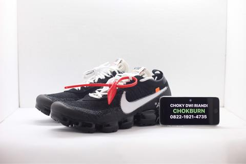 the latest f5f74 c88bf Off White The:10 x Nike Air Vapormax Flyknit Original