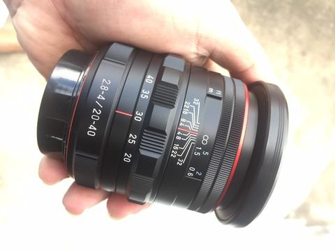 Lensa Pentax HD DA 20-40 WR limited