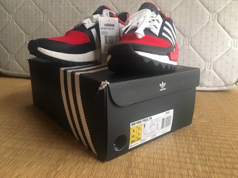 wholesale dealer 9c317 92231 TERJUAL White Mountaineering X Adidas NMD Trail Collegiate Navy/BA7519