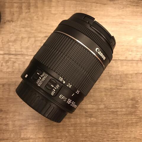 [ CSZ ] Canon EFS 18-55 IS STM mulus murah