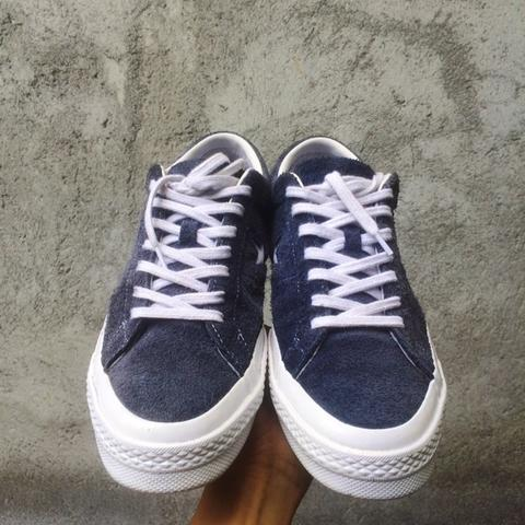 Terjual Converse One Star Ox 74 Navy  8422cd379
