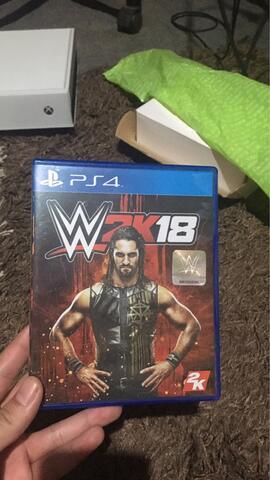JUAL BD PS4 (NBA 2k18, Friday the 13th, dan WWE 2k18)