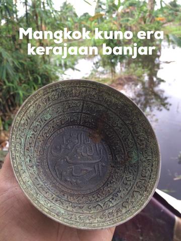 Mangkok kuno era kerajaan banjar