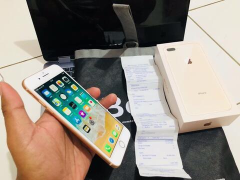 Terjual Iphone 8 Plus 64gb Garansi Resmi Ibox Januari 2019 X 7 Note