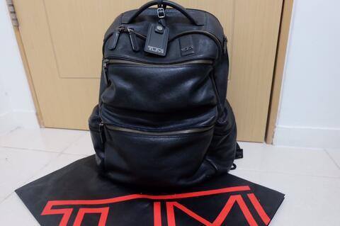 Terjual ORIGINAL Tas Bagpack Tumi Full Kulit Not Fossil