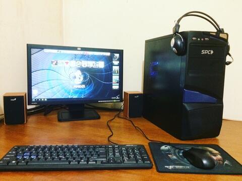 "1 set PC AMD Phenom X4 + LCD HP 20"" siap pake =) (bandung)"