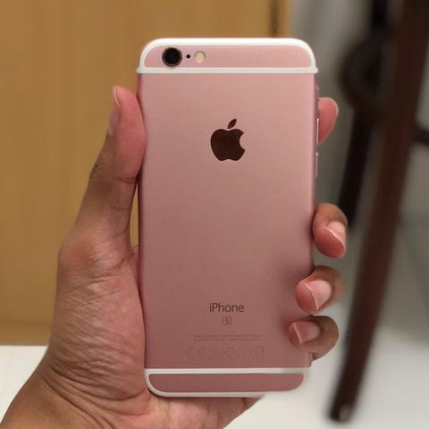 Jual: 2nd iPhone 6s Rose Gold - 16GB