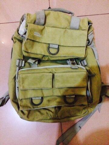 tas backpack travel dan kamera National Geographic NG 5162