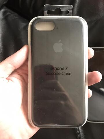 Terjual Apple Silicon Case Iphone 7 8 Black Original Malang Kaskus