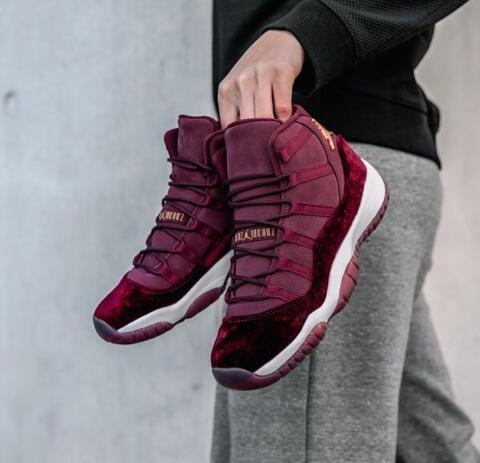 """5f481f19b47e Jual Nike Air Jordan 11 Retro RL GG Heiress """"Red Velvet"""""""
