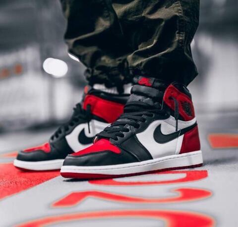 "b58f180b29f09c Jual Nike Air Jordan 1 Retro High OG ""Bred Toe"""