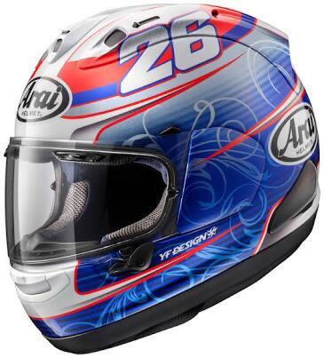 Arai RX7X #26 daniel PEDROSA (MotoGP)