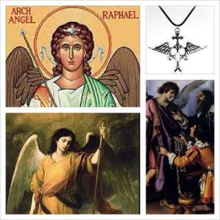 Kalung Berenergi Supra Malaikat Raphael