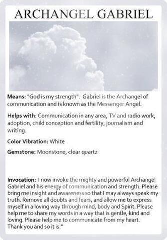 Gelang Berenergi Supra Malaikat Jibril Gabriel