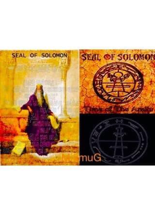Kalung Energi Seal Sulaiman Salomo Archangel