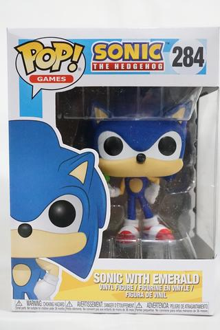 c92d9b2a0ef Jual Funko Pop Games - Sonic The Hedgehog - 284 - Sonic with Emerald ...