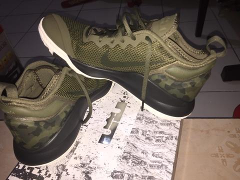 watch 1b195 c8ffe Jual Nike Lebron Witness II Olive Army (not jordan,curry,kd,harden)