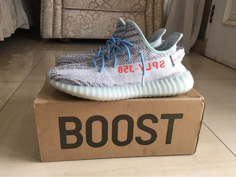 14f73db64 Adidas Yeezy Boost 350 V2 Blue Tint legit not beluga oreo cream white bred