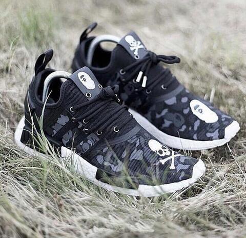 hot sale online 43843 85b13 Adidas NMD Mastermind x Japan x Bape NMD R1