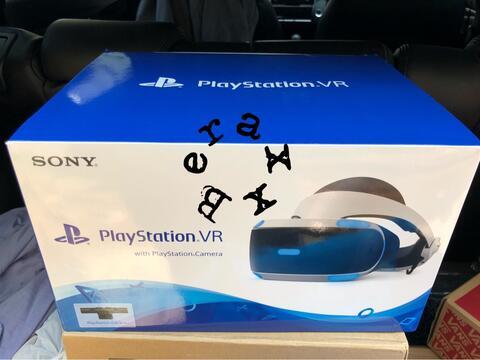Playstation VR [New Model] + Camera + Gran Turismo Sport + VR World