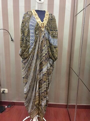 Abaya batik danar hadi