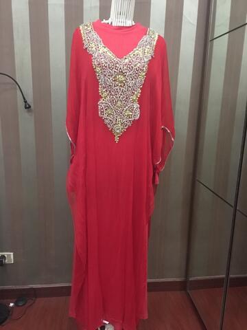 abaya payet swarosky