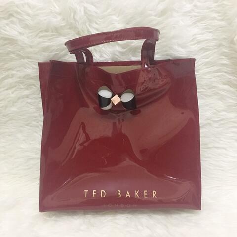 Tas Ted Baker Large Shopper Red