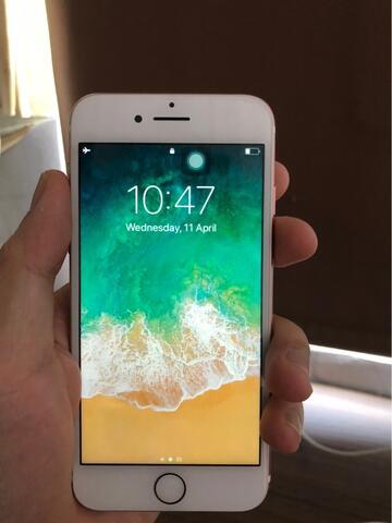 Iphone 7 128Gb Rose gold mulus banget ex singapore