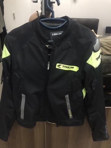 Jaket RS Taichi RSJ 226 black neon size L