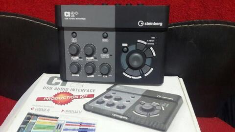 soundcard steinbergh CI2+ mulus