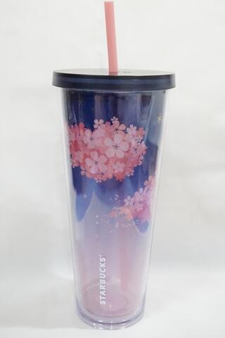 Starbucks Tumbler Pink Purple Sakura Venti Size Korea