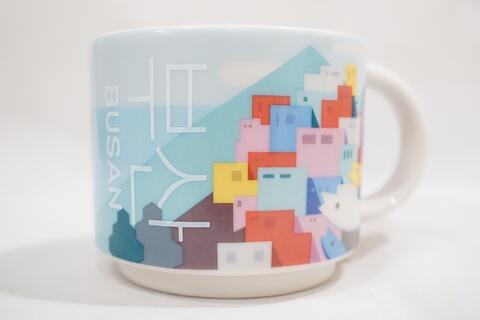 Starbucks Mug Busan City Demitasse Small Espresso