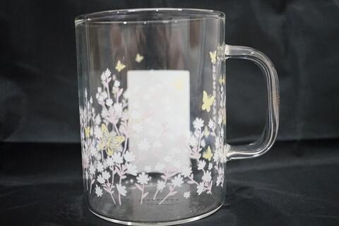 Starbucks Transparant Sakura Mug Glass Gelas 502 ml 17 oz