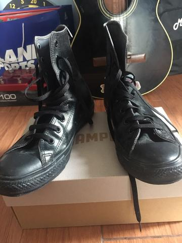 converse black high made in indonesia for import