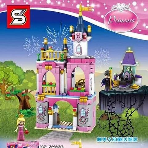 SY 986 - Sleeping Beauty's Fairytale Castle - Disney Princess