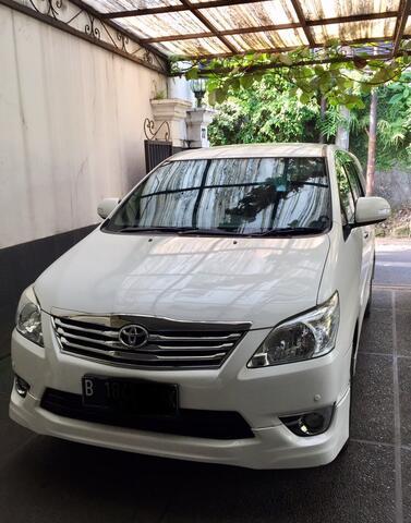 2012 Toyota Innova V Luxury
