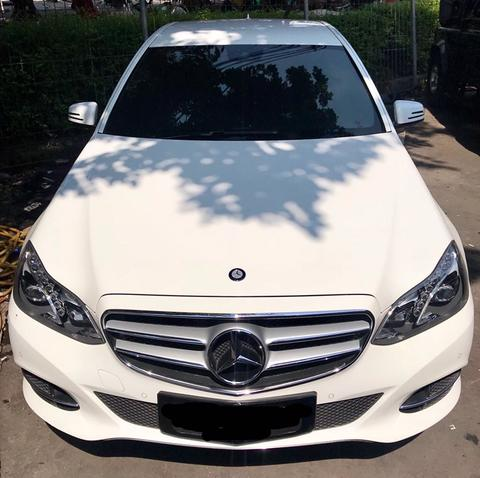 Mercedes Benz E 250 Putih 2015 low KM antik 8rb