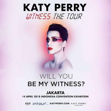 Tiket Konser Katy Perry Festival B