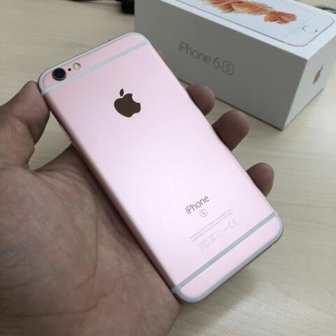 UNTUNG STORE >> iPhone 6s 64gb Rose Gold Fullset Normal Jaksel