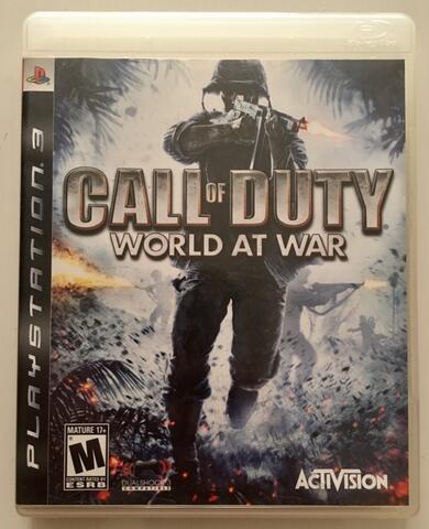 BD Kaset Game PS3 Call Of Duty World At War