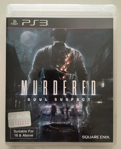 BD Kaset Game PS3 Murdered Soul Suspect