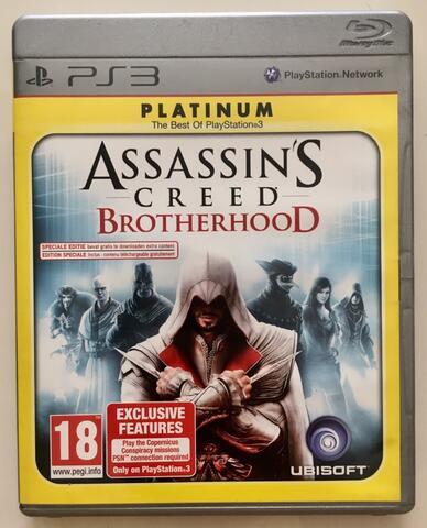BD Kaset Game PS3 Assassin's Creed Brotherhood