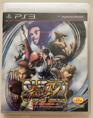 BD Kaset Game PS3 Super Street Fightet 4