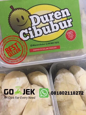 Durian duren kupas Medan Super... Manis banget rasanya