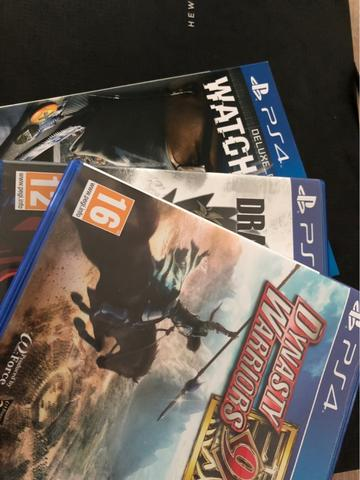 Kaset Game BD PS4 Watch Dogs 2 Dynasty Warrior 9 Dragonball Xenoverse 2